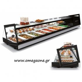 Επιτραπέζιο Ψυγείο Τροφίμων Βιτρίνα TAPAS CUBE