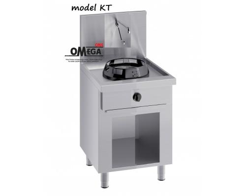 Wok (γουόκ) Κουζίνες Αερίου με Βρύση και Αποχέτευση -1 Καυστήρας Επιδαπέδιες