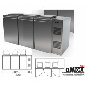 Χωρητικότητα 3 Δοχεία Ψυγείο Απορριμάτων