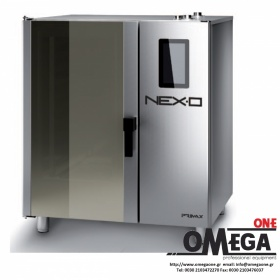 Φούρνος Μαγειρικής -7 GN 1/1 Κυκλοθερμικός Ηλεκτρικός Combi Direct Steam Πάνελ Αφής Αυτόματη Πλύση, NEXO NDE-107-HS