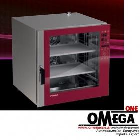 Φούρνος Μαγειρικής -6 GN 1/1 Κυκλοθερμικός Ηλεκτρικός Combi Direct Steam Prof Line PDE-106-ΗD