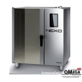 Μαγειρικής Κυκλοθερμικός Αερίου Combi Direct Steam Πάνελ Αφής  -10 GN 1/1 NEXO NDG-110-HS