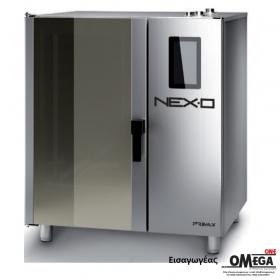 Μαγειρικής -10 GN 1/1 Αερίου Κυκλοθερμικός με Boiler Πάνελ Αφής NEXO NBG-110-HS