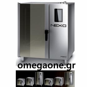 Φούρνος Μαγειρικής -10 GN 2/1 Κυκλοθερμικός Ηλεκτρικός Combi Direct Steam Πάνελ Αφής Αυτόματη Πλύση, NEXO NDE-210-HS