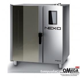 Μαγειρικής -7 GN 2/1 Κυκλοθερμικός Αερίου Combi Direct Steam Πάνελ Αφής  NEXO NDG-207-HS