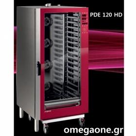 Φούρνος Μαγειρικής -20 GN 1/1 Κυκλοθερμικός Ηλεκτρικός Combi Direct Steam Prof Line PDE-120-ΗD