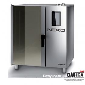 Μαγειρικής -7 GN 1/1 Αερίου Κυκλοθερμικός με Boiler Πάνελ Αφής  NEXO NBG-107-HS