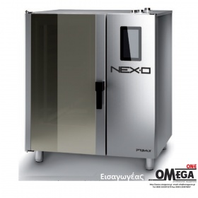 Μαγειρικής -7 GN 2/1 Αερίου Κυκλοθερμικός με Boiler Πάνελ Αφής NEXO NBG-207-HS