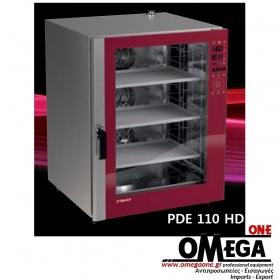 Φούρνος Μαγειρικής -10 GN 1/1 Κυκλοθερμικός Combi Direct Steam Ηλεκτρικός Prof Line PDE-110-ΗD
