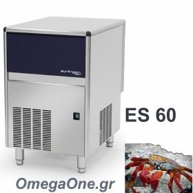 Παγομηχανή -ΞΗΡΟ ΠΑΓΟΛΕΠΙ 60kg/24ωρο με Αποθήκη 10kg