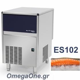 Παγομηχανή -ΞΗΡΟ ΛΕΠΙ 100kg/24ωρο με Αποθήκη 20kg