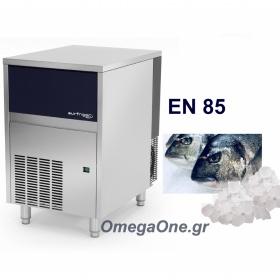 Παγομηχανή Πάγος τύπου NUGGET 85kg/24ωρο/Αποθήκη 20kg