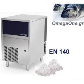 Παγομηχανή Παγότριμμα τύπου NUGGET 140kg/24ωρο/Αποθήκη 50kg