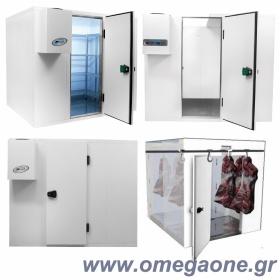 Ψυγεία Λυόμενα Πάνελ με Πάτωμα ΜΟΝΩΣΗ 80mm. Διαστ. από (ΜxΒ) 1800x1200mm έως 1800x3000 mm