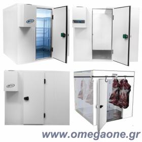 Ψυγεία Λυόμενα Πάνελ με Πάτωμα ΜΟΝΩΣΗ 80mm. Διαστ. από (ΜxΒ) 2100x1200 mm έως 2100x3000 mm