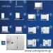 Συντήρηση και Κατάψυξη Διπλά Λυόμενα Πάνελ με Πάτωμα και Εσωτερικό Χώρισμα ΜΟΝΩΣΗ 120mm