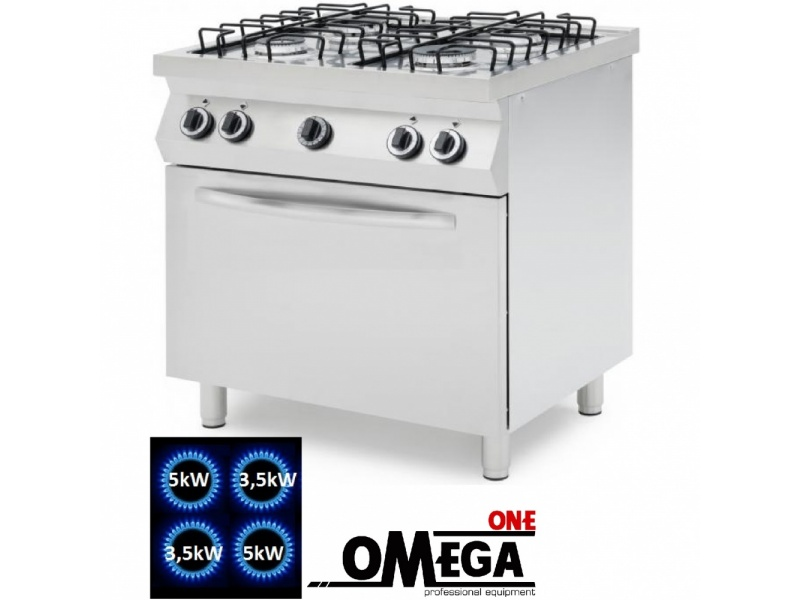 092e980b774 4 Burner Gas Stove with Static Gas Oven GN 1 1. They are perfect ...