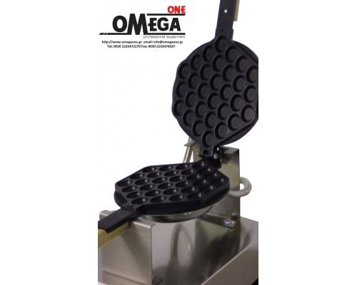Βαφλιέρα - Waffles σχήμα <Μπουκίτσες-Egg> Περιστρεφόμενη