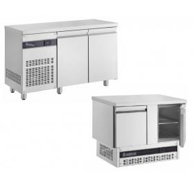 Ψυγείο Πάγκος Συντήρηση με 2 Ανοξείδωτες Πόρτες Σειρά 600 & 700