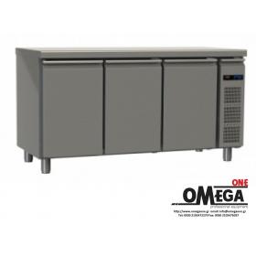 Συντήρηση Ψυγεία Πάγκοι με 3 Ανοξείδωτες Πόρτες Χωρίς Μηχανή Σειρά 60, 70 & 80