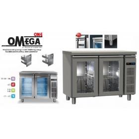 Συντήρηση Ψυγεία Πάγκοι με 2 Γυάλινες Πόρτες Χωρίς Μηχανή Σειρά 60 &70