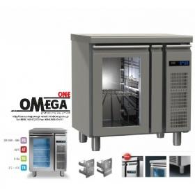 Συντήρηση Ψυγεία Πάγκοι με 1 Γυάλινη Πόρτα Χωρίς Μηχανή Σειρά 60 & 70