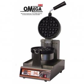 Βαφλιέρα Ψηφιακή Περιστρεφόμενη - Waffles  Στρογγυλές Americano