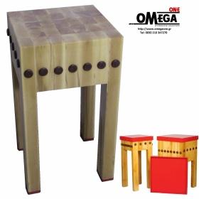 Κούτσουρα Κρεοπωλείου Οξυάς Βιδωτά διαστ. 600x600x900 mm
