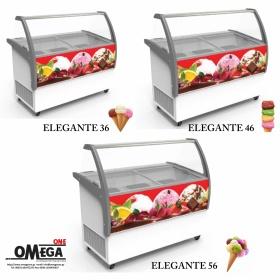 Ψυγεία Αποθήκευσης & Προβολής Παγωτού ELEGANTE