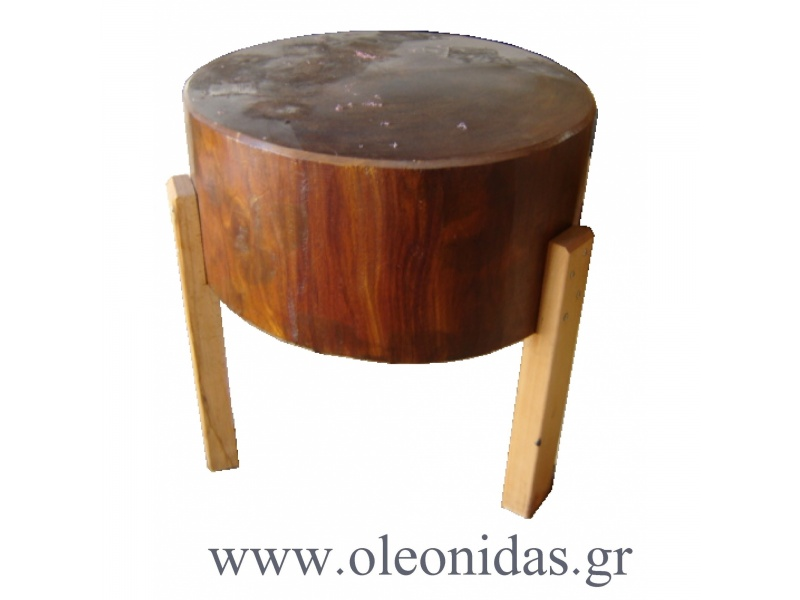 Round Butchers Block and Table Wooden Butcher Block, Butcher
