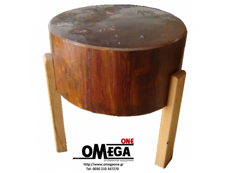 Round Butchers Block And Table Wooden, Round Butcher Block Table