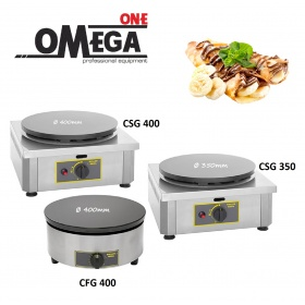 Roller Grill CSG 350mm and 400mm Single Gas Crepe Maker