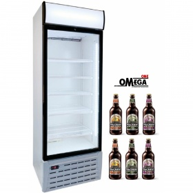 602 Lt Single Door Upright Bottle Beer Cooler