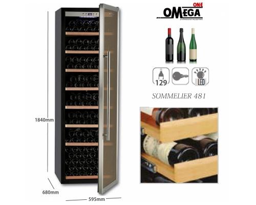Συντηρητές Κρασιών 1 Ζώνη (°C) SOMMELIER Wine