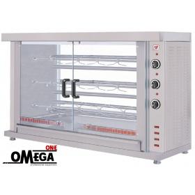 ΗΚ3 3 Spit Electric Chicken Rotisserie Oven