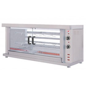 ΗΚ2 2 Spit Electric Chicken Rotisserie Oven