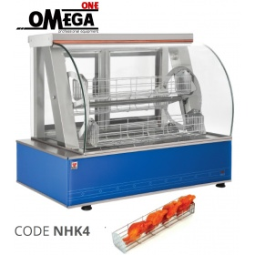 Electric Chicken Planetary Rotisserie -4 Βaskets 68 cm