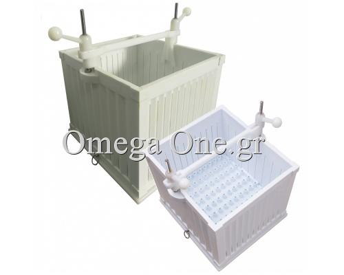 ΣΟΥΒΛΑΚΟΜΗΧΑΝΗ Πολυαιθυλενίου έως 120 gr 64 τεμάχια Omega One