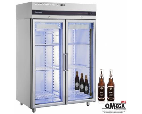 Επαγγελματικό Ψυγείο Μπύρας Διπλό -2°C / +8°C 1432 λίτρα Omega One