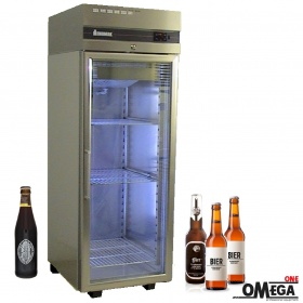 Single Door Upright Bottle Beer Cooler -2°C / +8°C