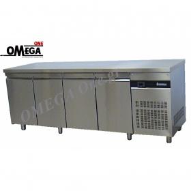 Ψυγεία Πάγκοι Συντήρηση με 4 Ανοξείδωτες Πόρτες, Σειρά 600 και 700