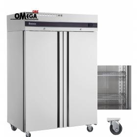 Ψυγείο Θάλαμος Κατάψυξη 2 Πόρτες με ΡΟΔΕΣ 1227 Ltr διαστ. 1440x768x2100 mm Slim Line