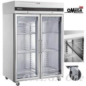 Ψυγείο Θάλαμος Συντήρηση 2 Γυάλινες Πόρτες με ΡΟΔΕΣ 1432 Ltr διαστ. 1440x905x2100 mm