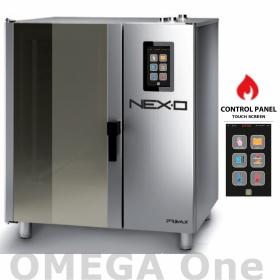 Επαγγελματικοί Φούρνοι ΕΣΤΙΑΤΟΡΙΟΥ Αερίου Ατμού NEXO Αυτόματη Πλύση Combi Steam Boiler Πάνελ Αφής