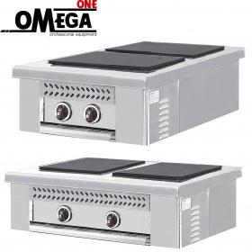 Ηλεκτρική επιτραπέζια κουζίνα 2 εστιών