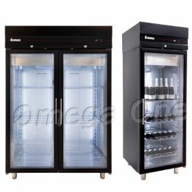 Ψυγεία Θάλαμοι Συντήρηση με Γυάλινες Πόρτες Έγχρωμα Πολλαπλών Χρήσεων