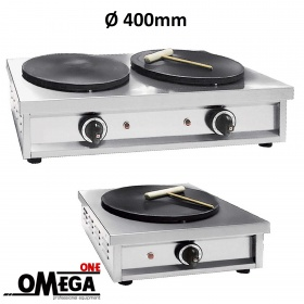 Ø 400mm Electric Grills Crepe Makers | Omega One