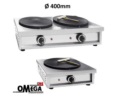 Επαγγελματικές Κρεπιέρες Ηλεκτρικές Ø 400mm | NORTH | Omega One