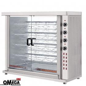 Ψησταριά Ηλεκτρική για 45 Κοτόπουλα | Omega One 9 Σουβλών Επιτραπέζια
