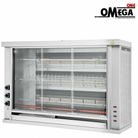 3 Spit Gas Rotisserie Oven